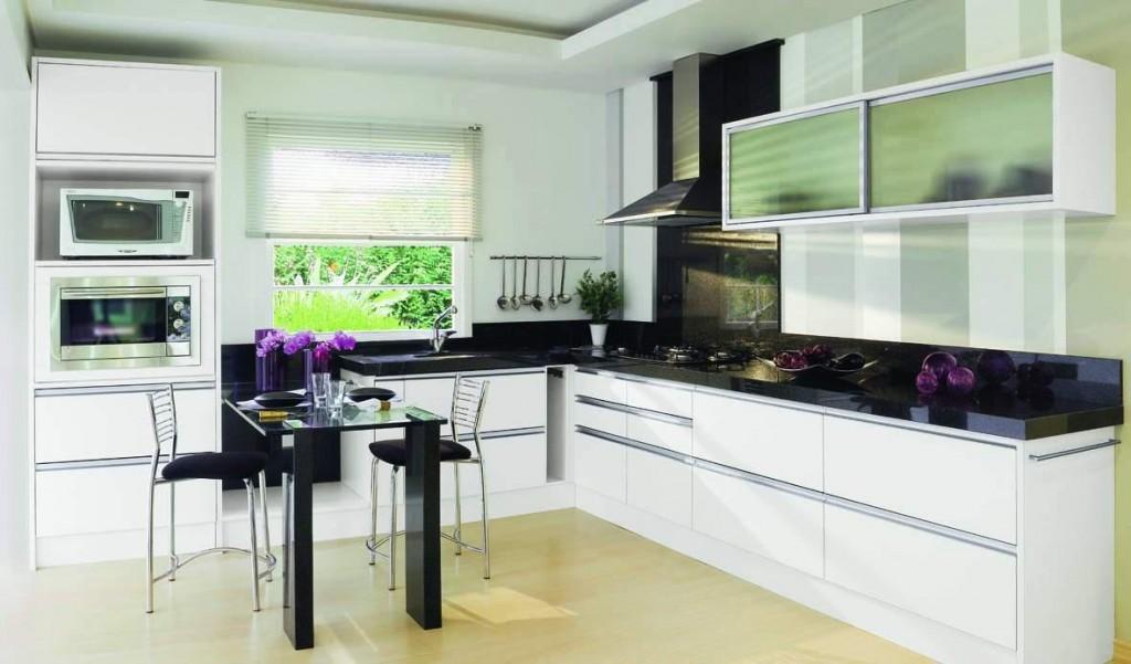 l shaped kitchen layout photo - 9