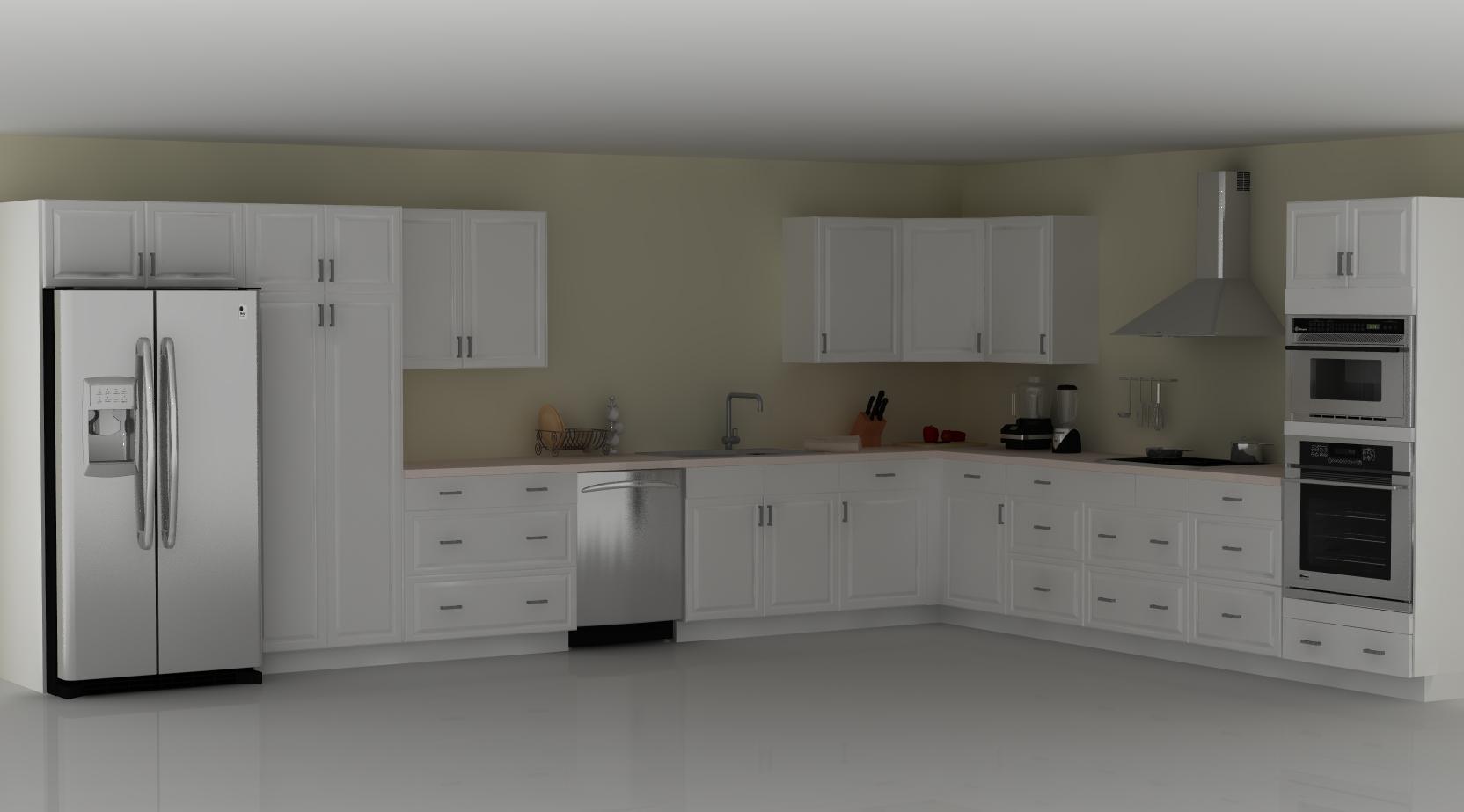 l shaped kitchen layouts design photo - 8