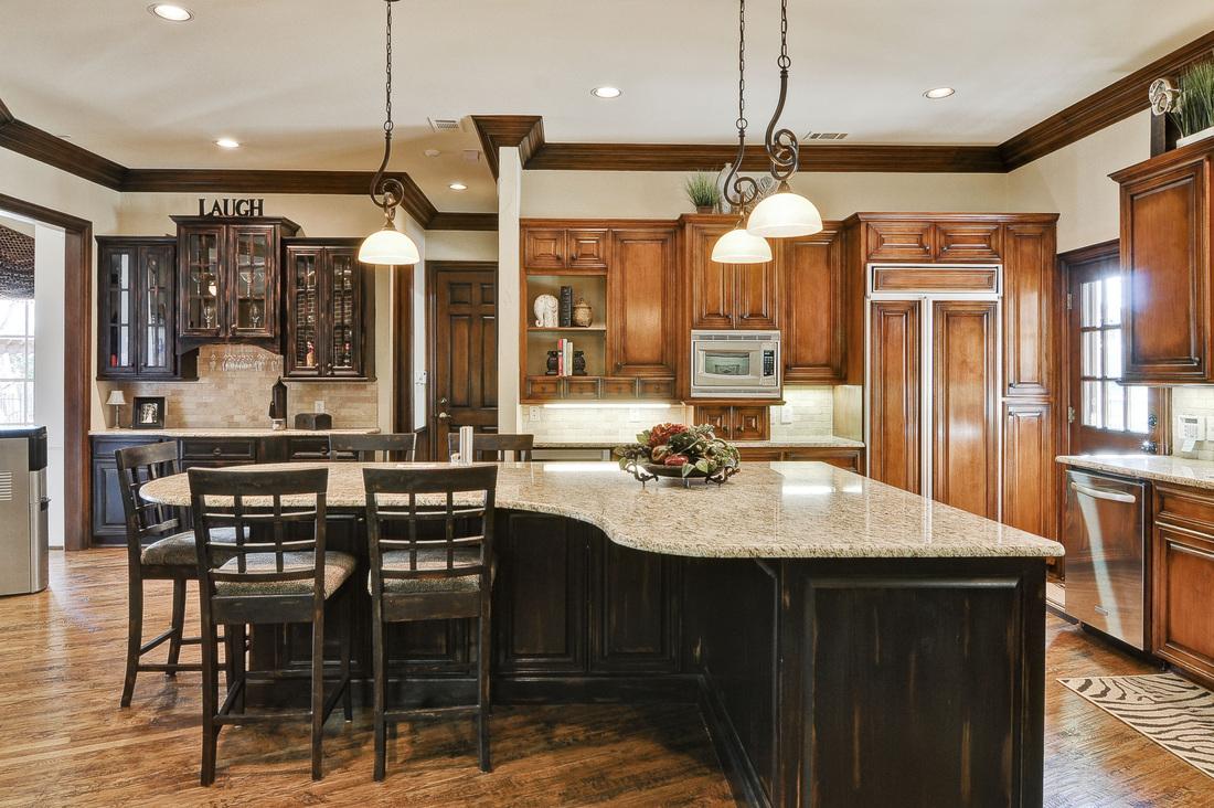 l shaped kitchen layouts with island photo - 3