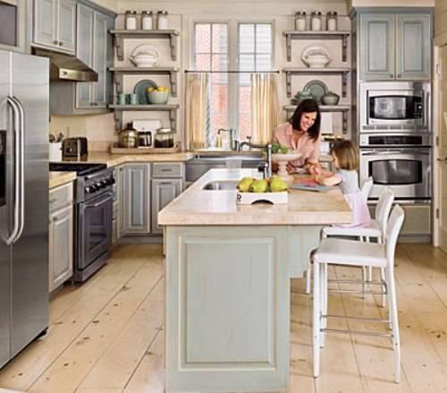 l shaped kitchen layouts with island photo - 8