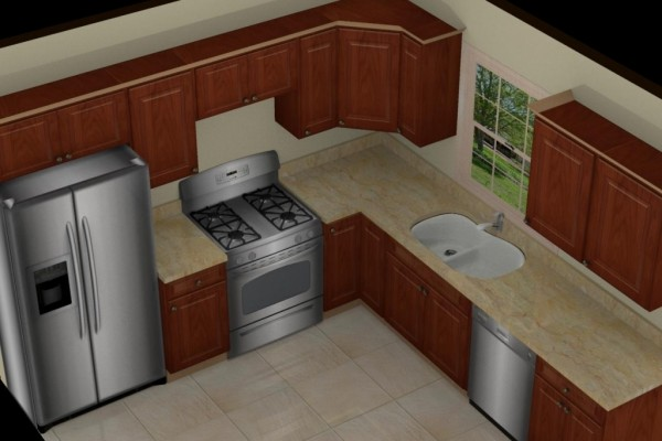 l shaped kitchen remodel ideas photo - 8