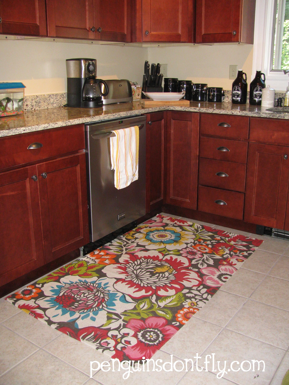 l shaped kitchen rug photo - 1