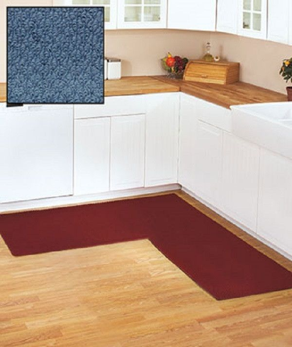 l shaped kitchen rug photo - 10