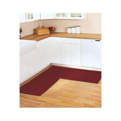 l shaped kitchen rug photo - 3