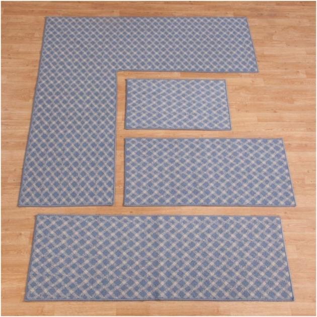 l shaped kitchen rug photo - 4
