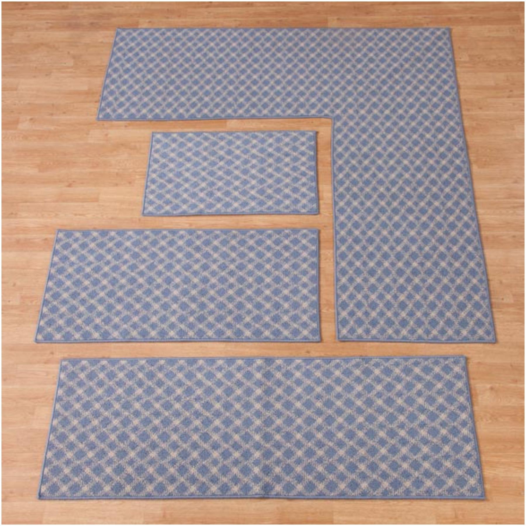 l shaped kitchen rug photo - 5