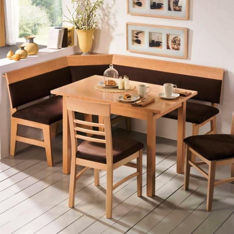 l shaped kitchen table photo - 5