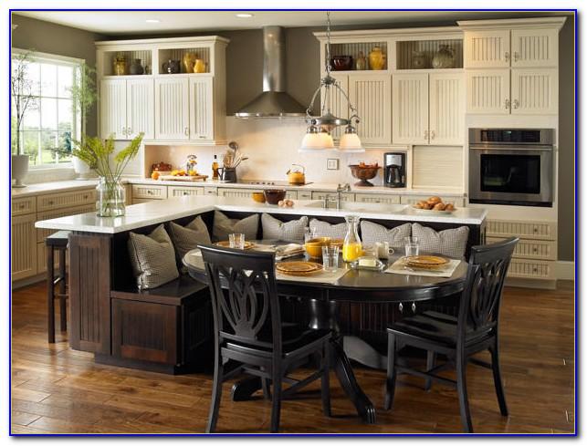 l shaped kitchen table photo - 6