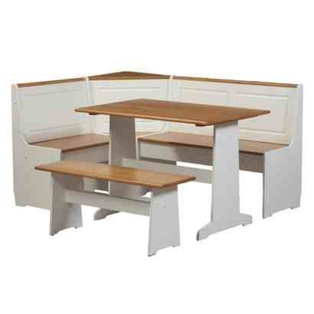 l shaped kitchen table with bench photo - 2