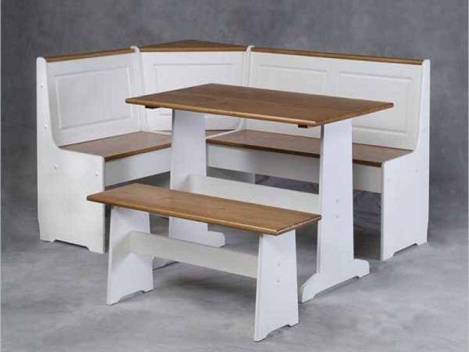 l shaped kitchen table with bench photo - 4