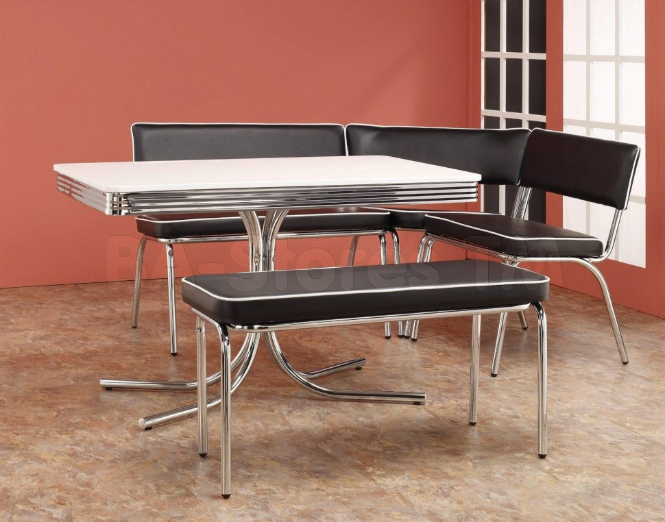 l shaped kitchen table with bench photo - 6