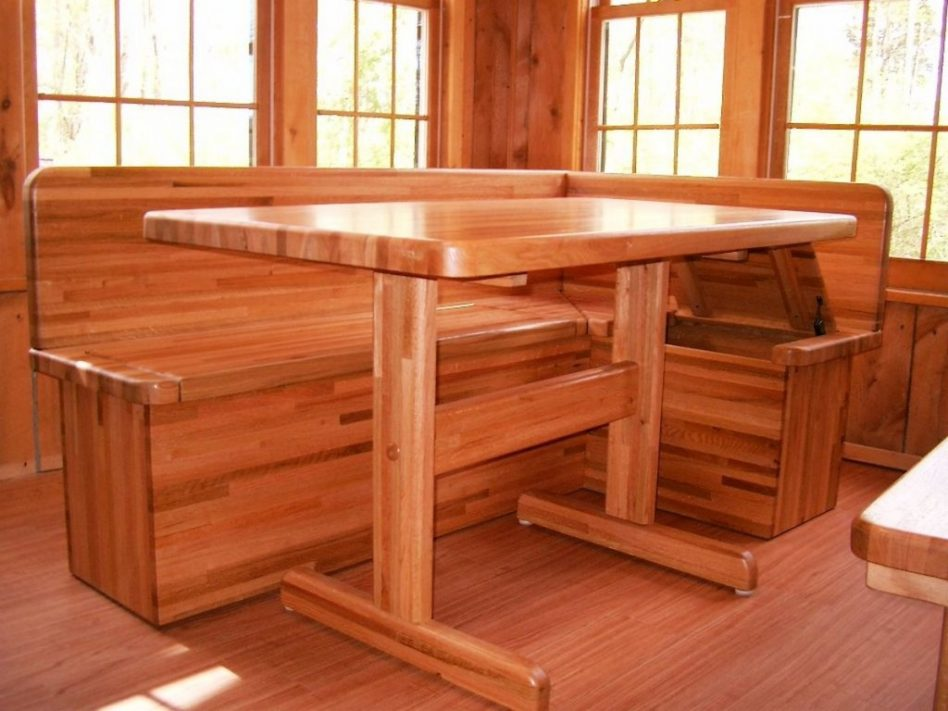 l shaped kitchen table with bench photo - 7