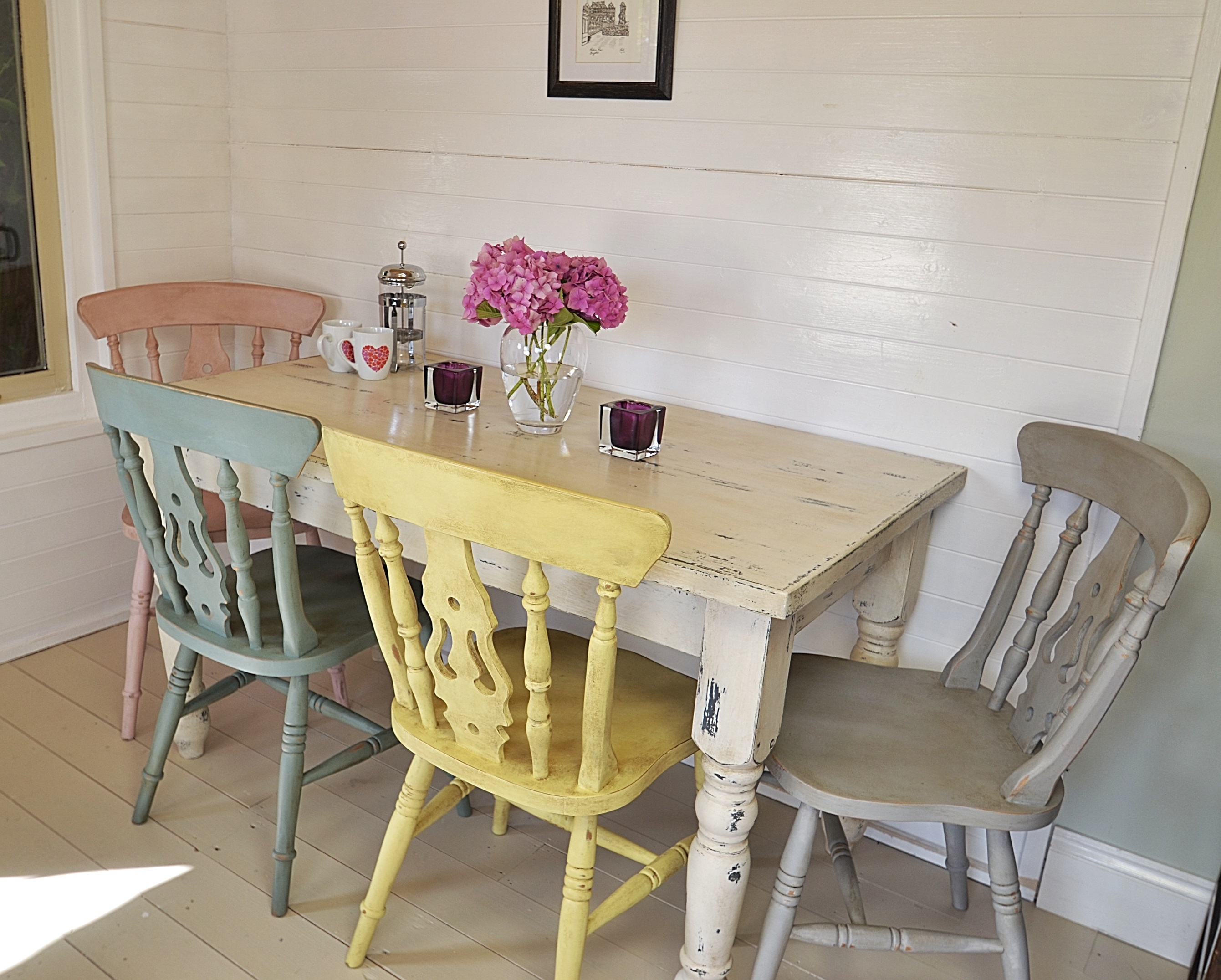 l shaped kitchen table with bench photo - 8