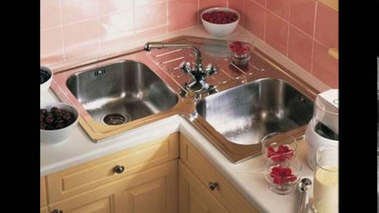 l shaped kitchen with corner sink photo - 2