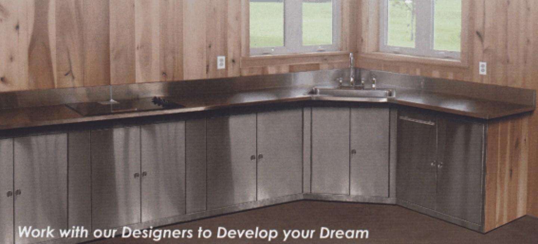 l shaped kitchen with corner sink photo - 4