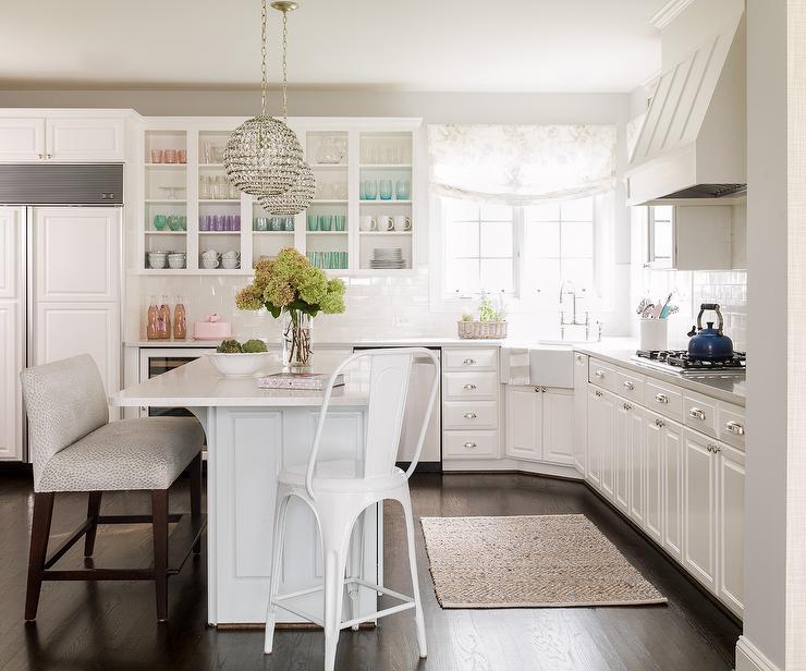 l shaped kitchen with corner sink photo - 7