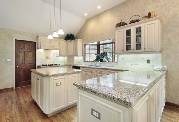l shaped kitchen with island designs photo - 7