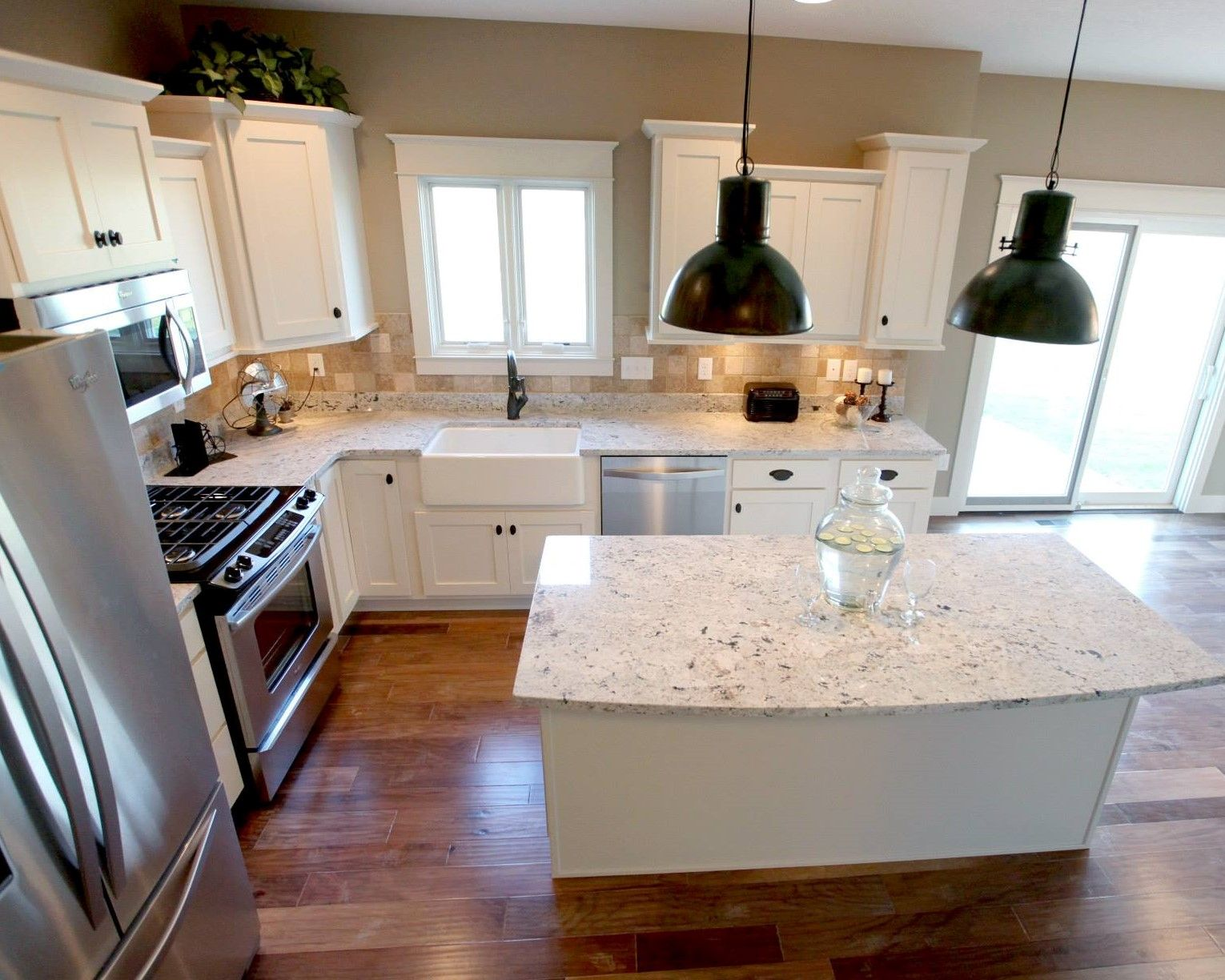 l shaped kitchen with island photos photo - 7