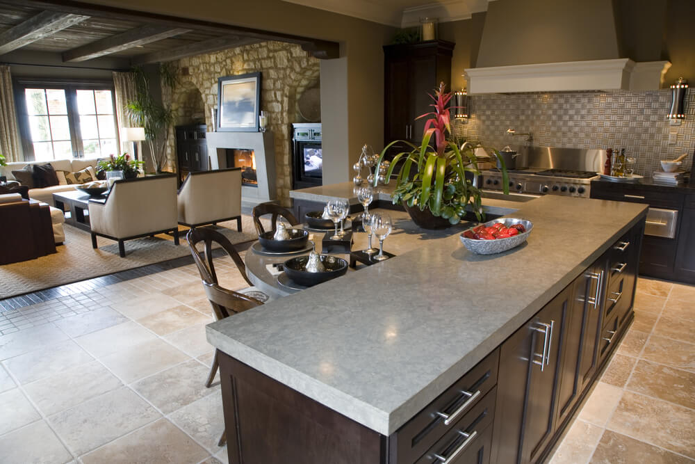 l shaped kitchen with island photos photo - 9