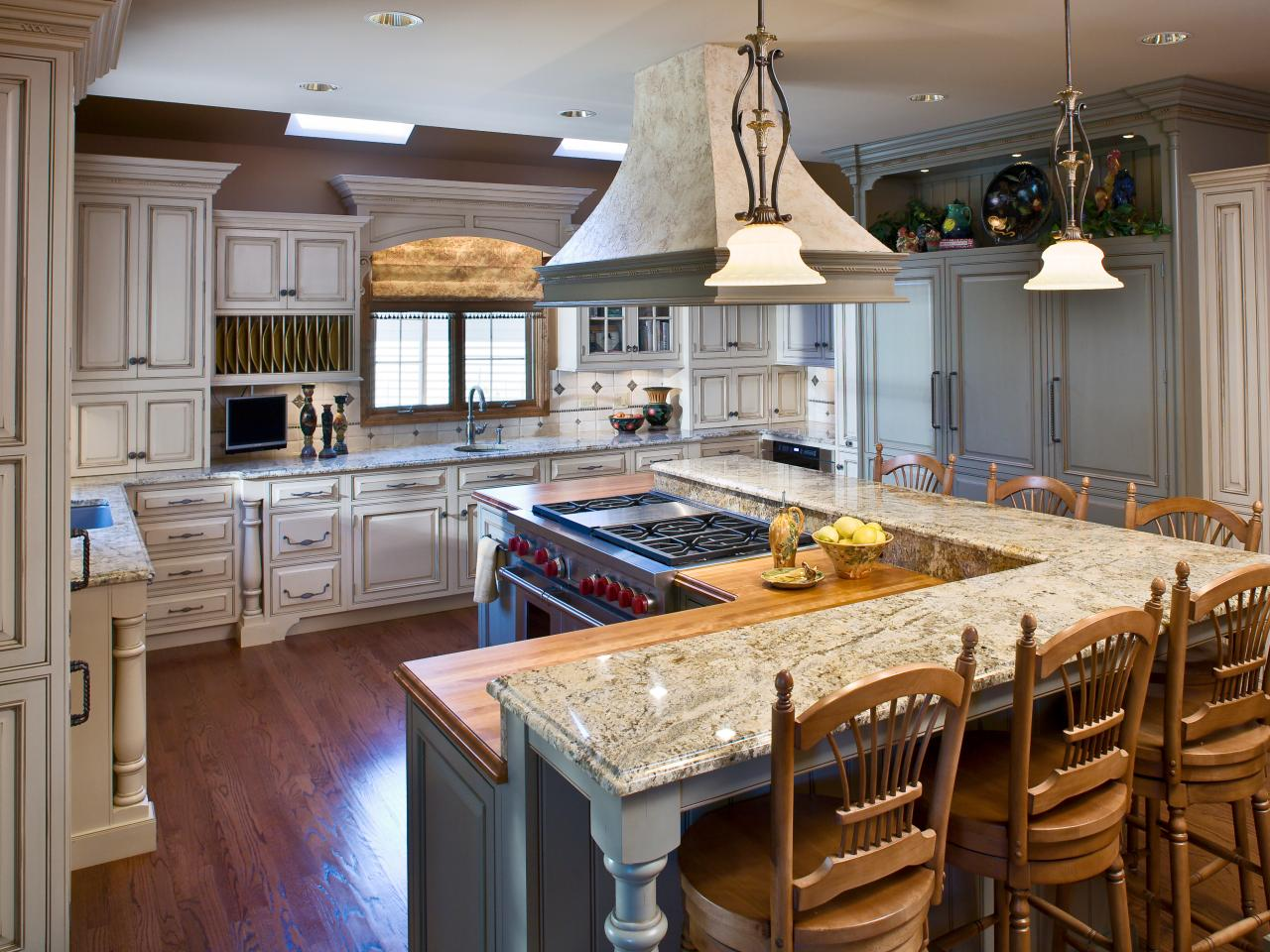 l shaped kitchen with island pictures photo - 3