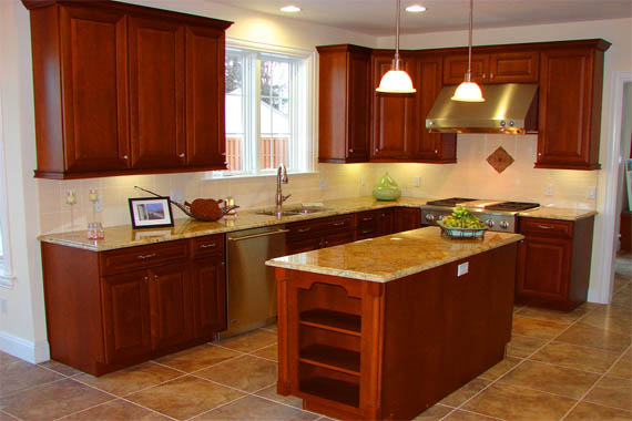 l shaped kitchen with island plans photo - 10