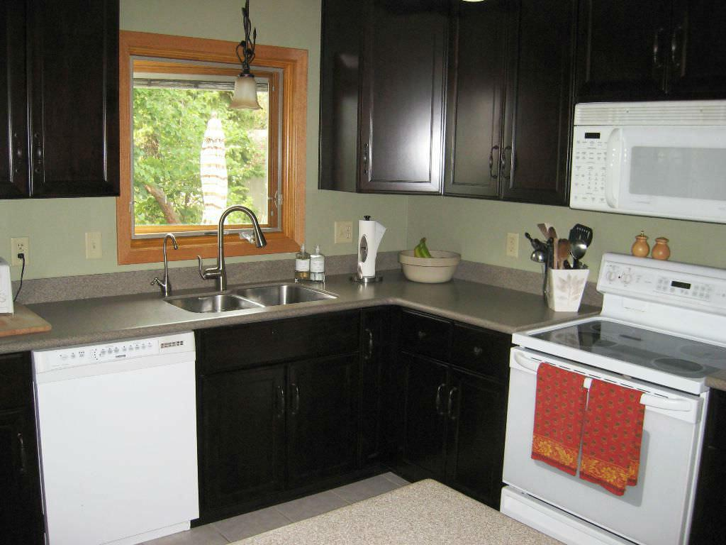l shaped kitchen with island plans photo - 5