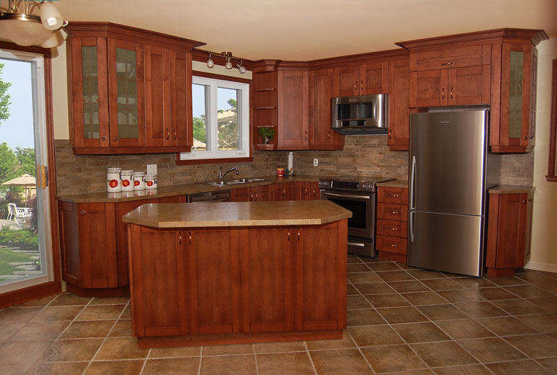 l shaped kitchen with island plans photo - 8