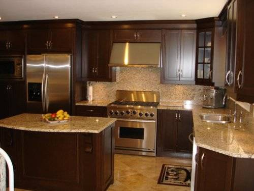 l shaped kitchen with island plans photo - 9