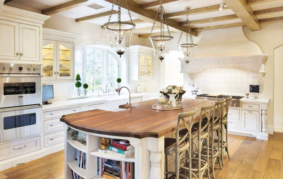 large country kitchen designs photo - 3