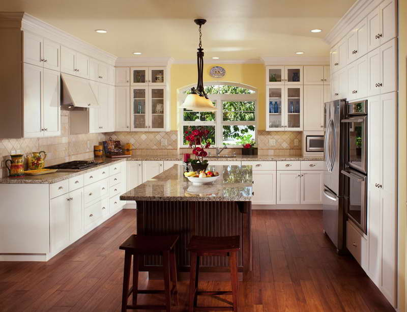large country kitchen designs photo - 4