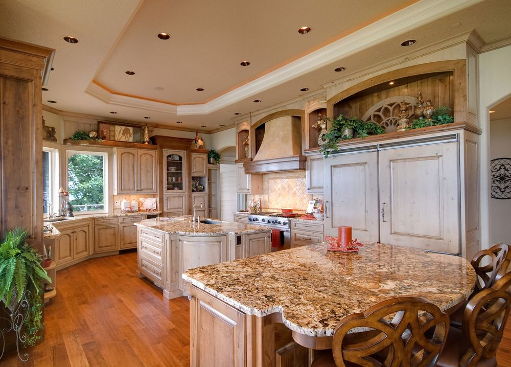 large country kitchen designs photo - 5