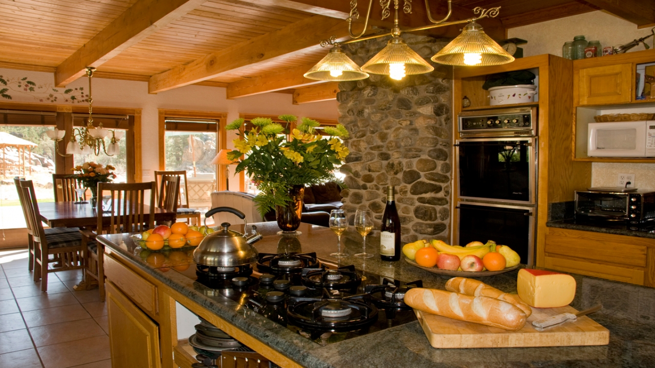 large country kitchen designs photo - 6