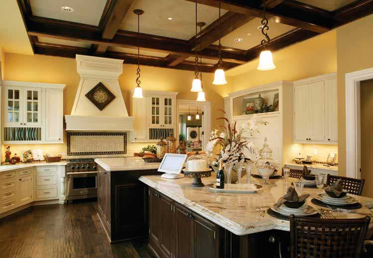 large country kitchen designs photo - 7