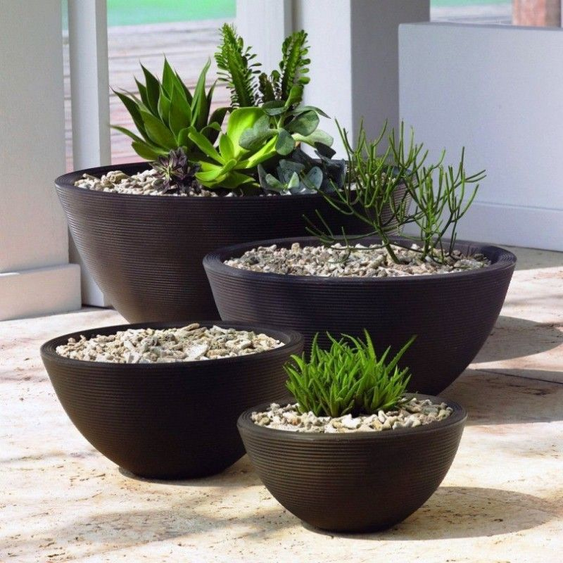 large designer garden pots photo - 2