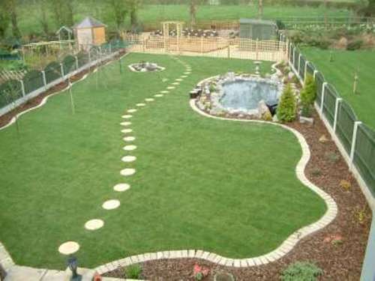 large garden design pictures photo - 1