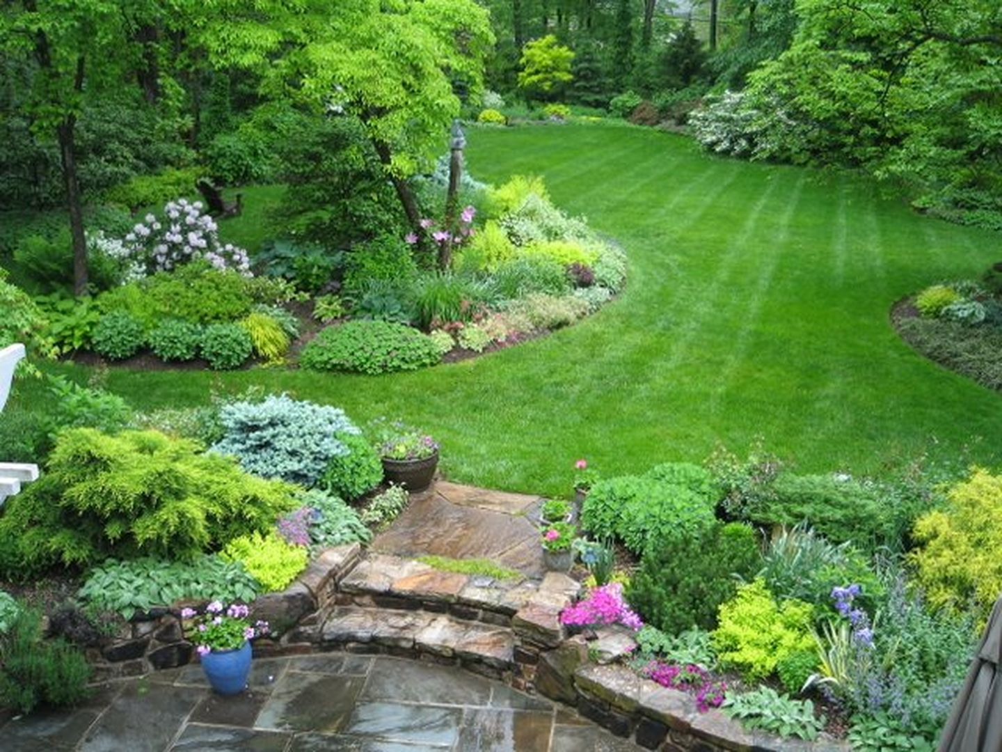 large garden design pictures photo - 7
