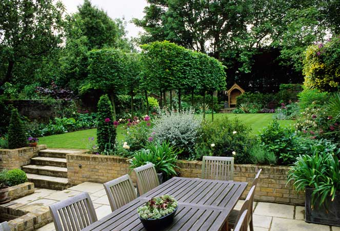 large garden design pictures photo - 8