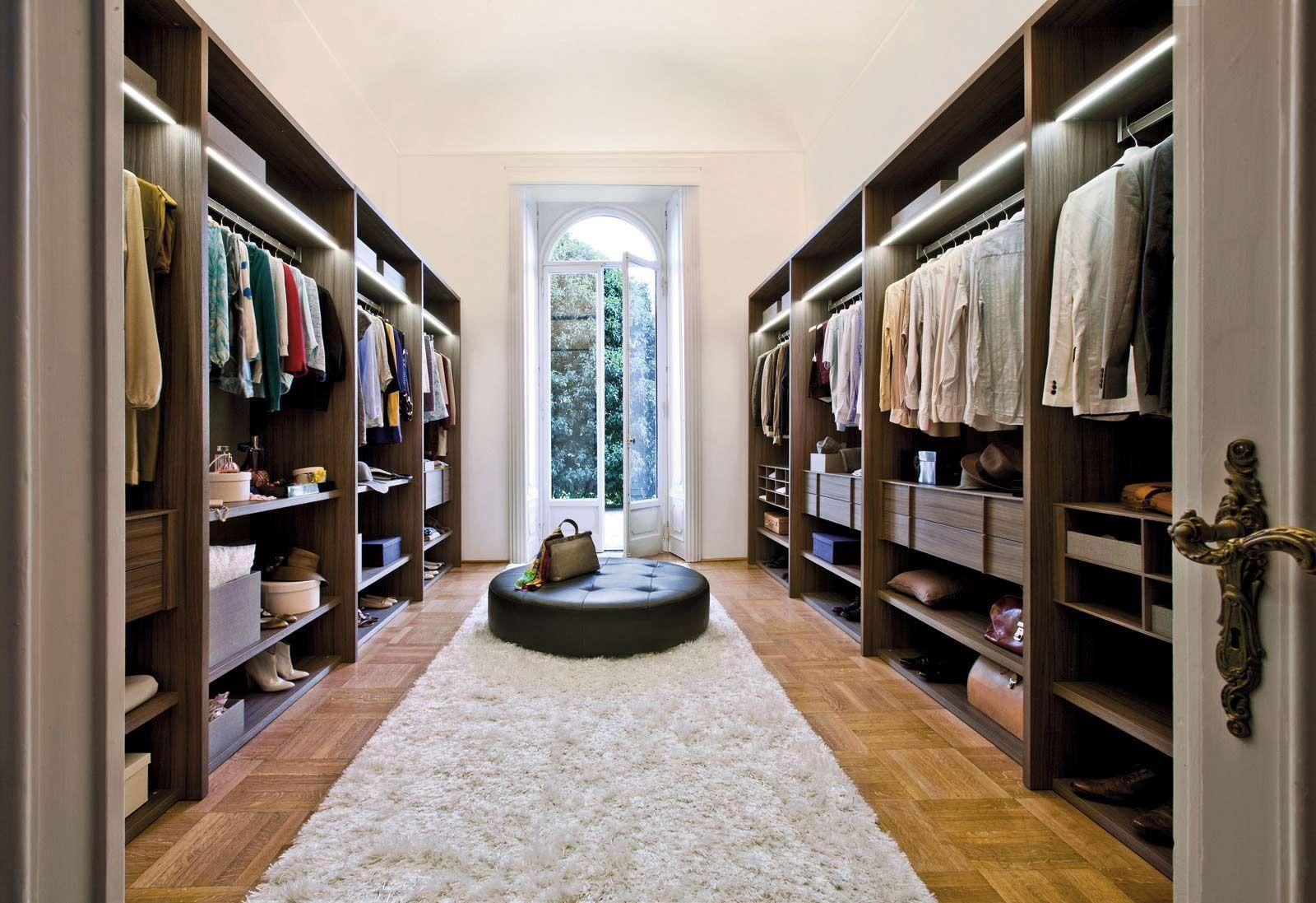 large walk in closet design photo - 5