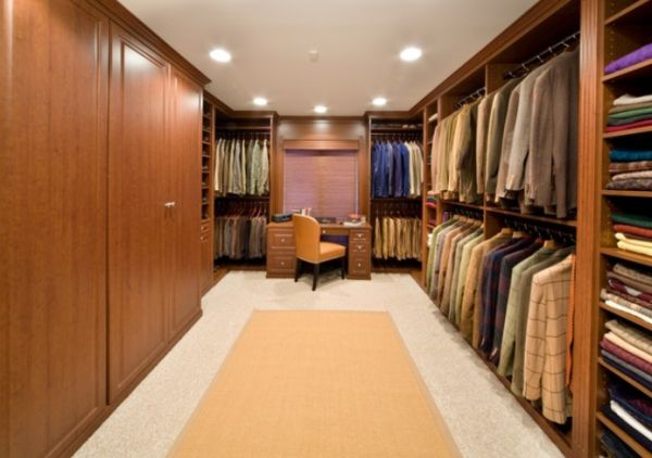 large walk in closet design photo - 9