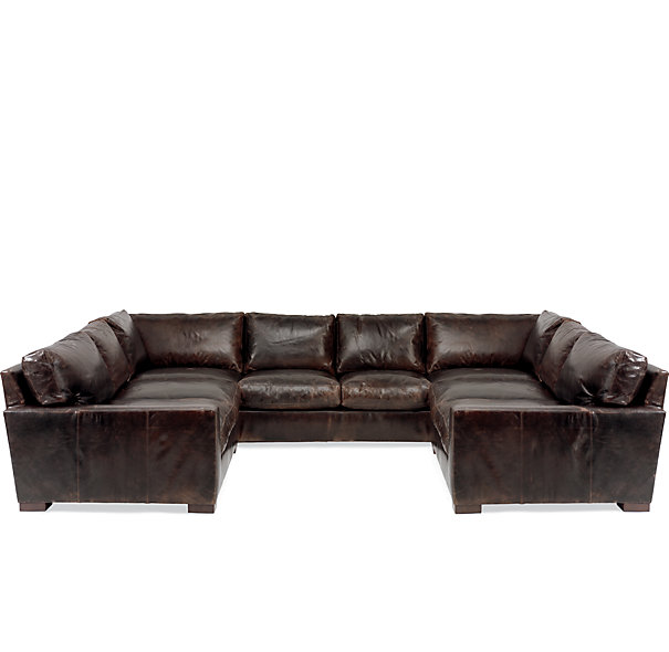 Leather Sectional Sofa Clearance Photo   1