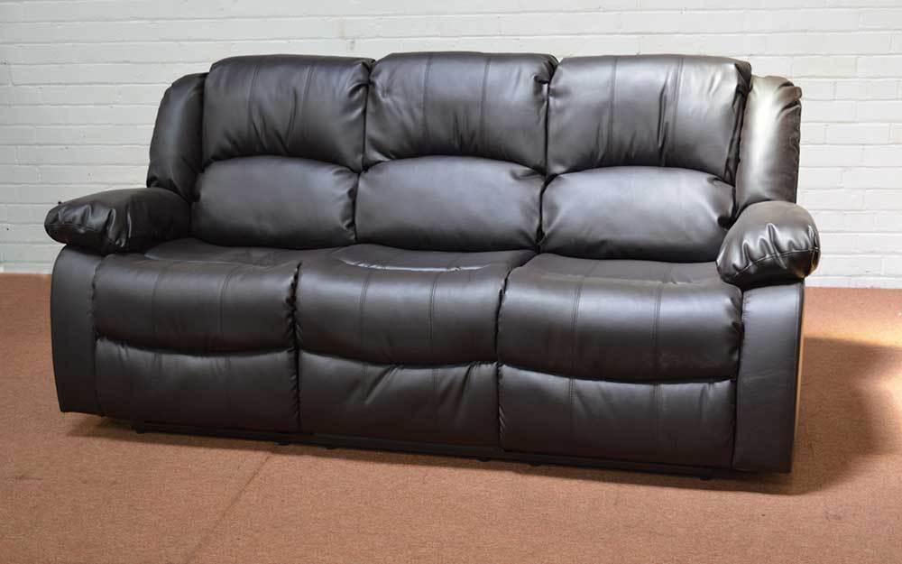 Beau Leather Sectional Sofa Clearance Photo   2