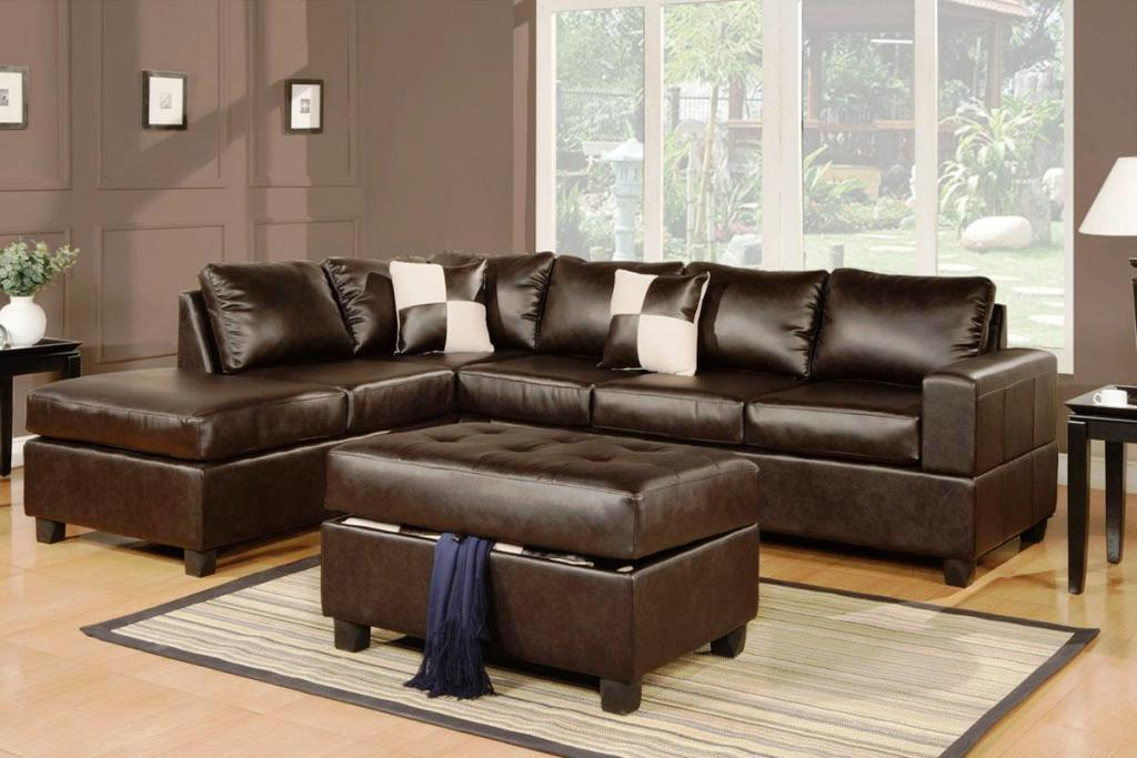 leather sectional sofa clearance photo - 4