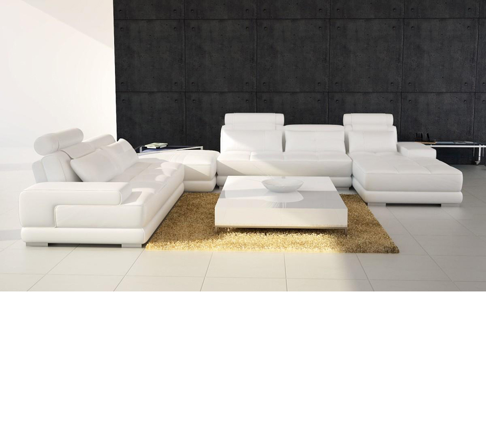 leather sectional sofa contemporary photo - 6