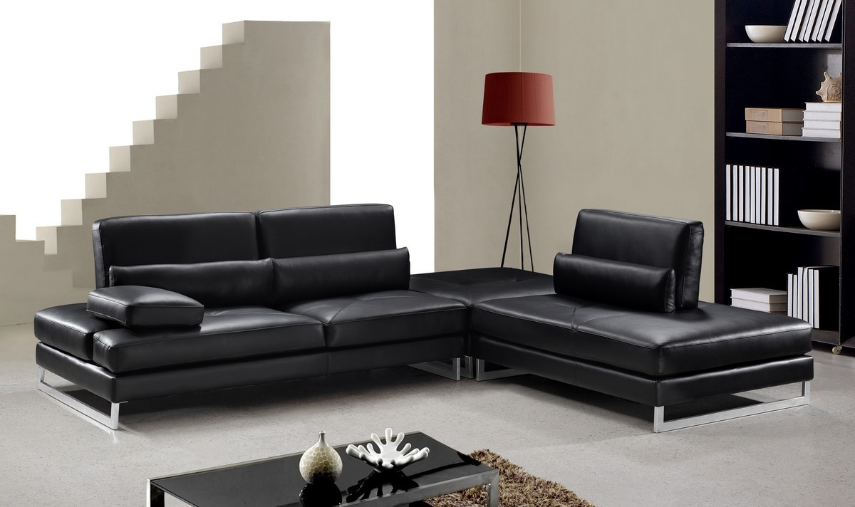 leather sectional sofa contemporary photo - 7