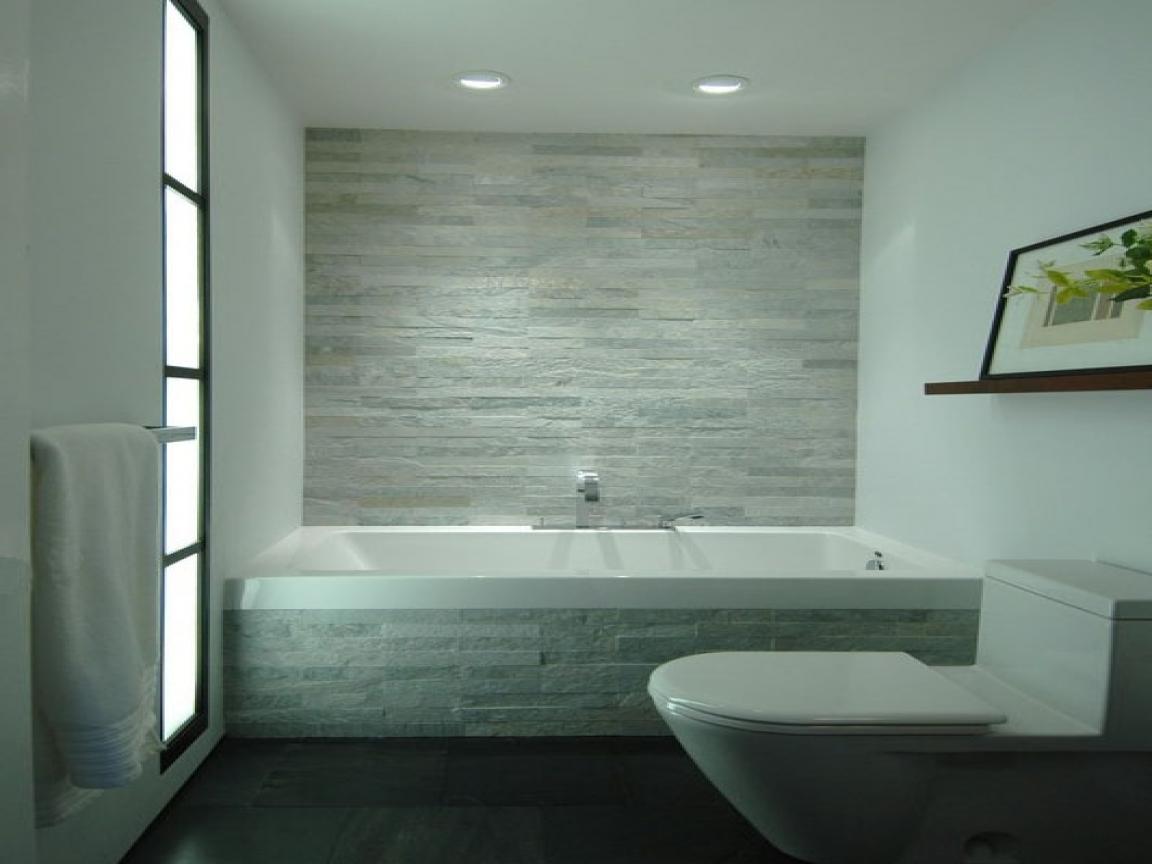 light grey bathroom tiles designs photo - 8