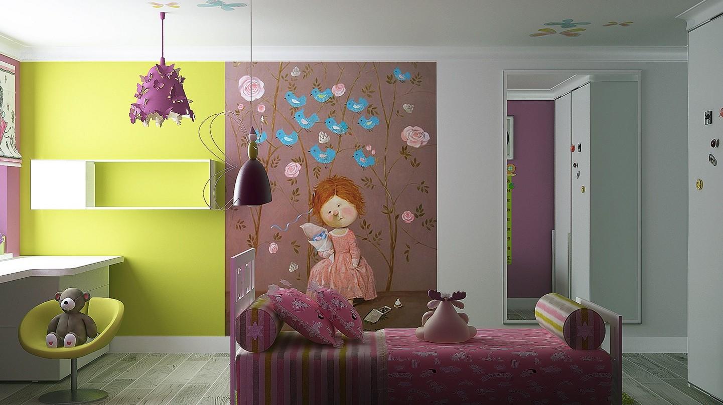 little girl room ideas paint photo - 1