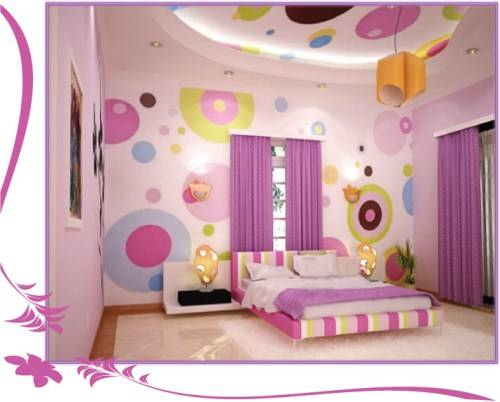 little girl room ideas paint photo - 3