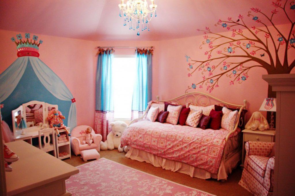 little girl room ideas paint photo - 5
