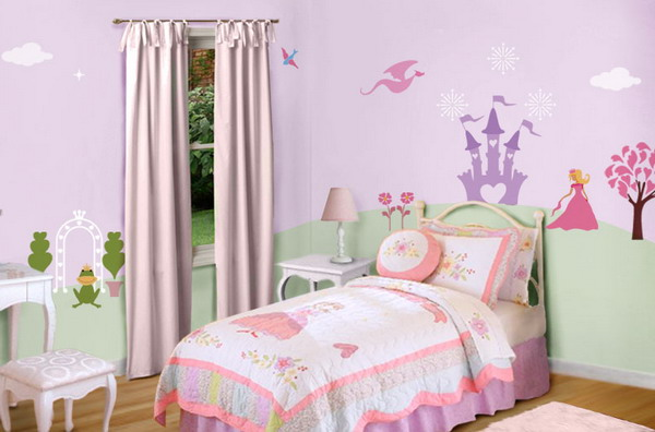little girl room ideas paint photo - 8