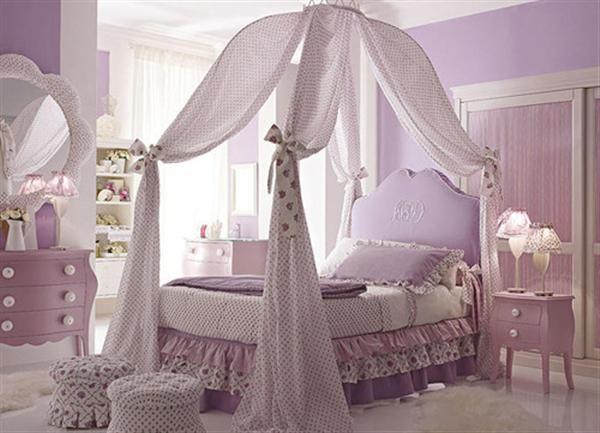 Little Girl Room Ideas Purple